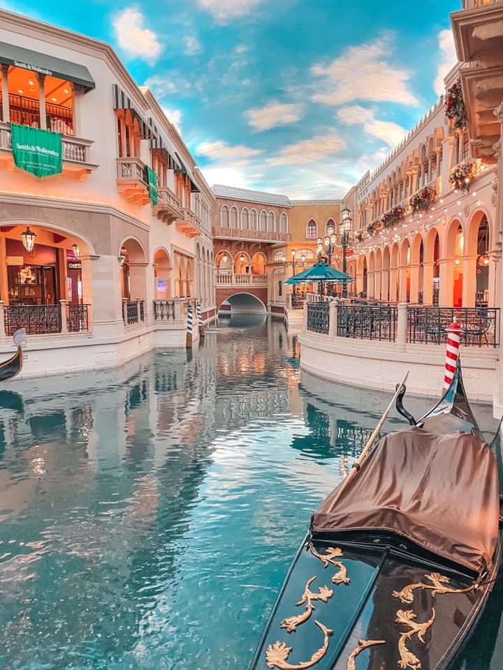 Grand Canal Shoppes at the Venetian in Vegas