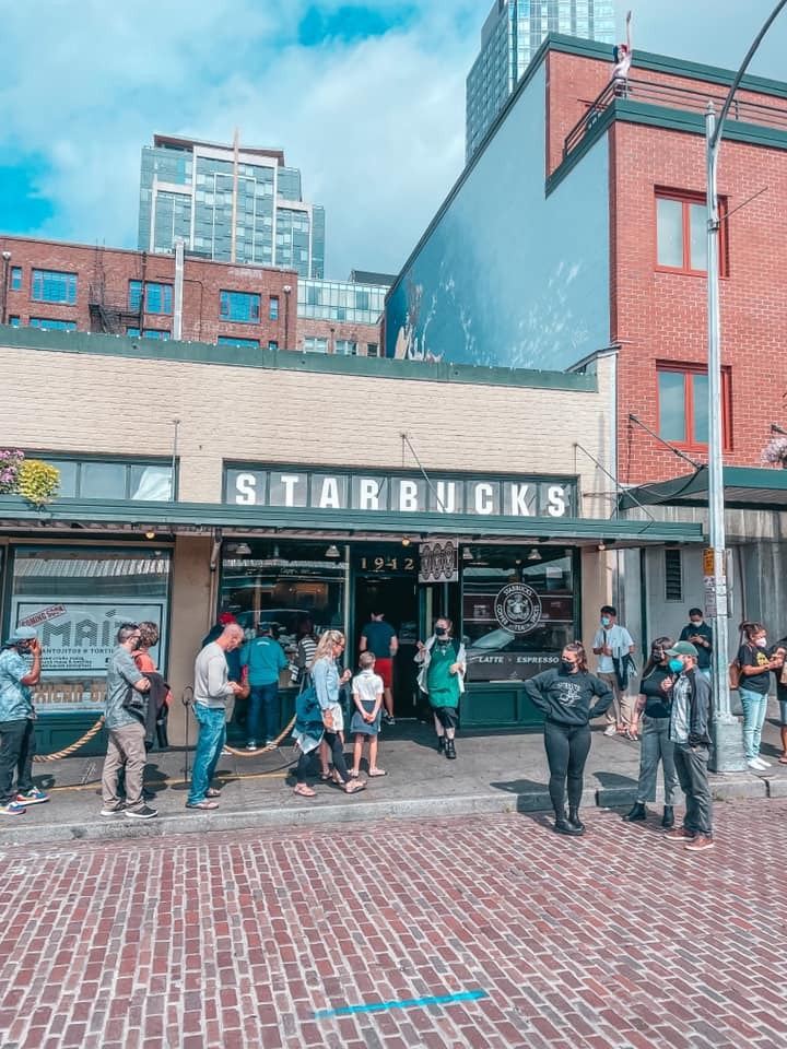 The Original Starbucks at Pike Place Market