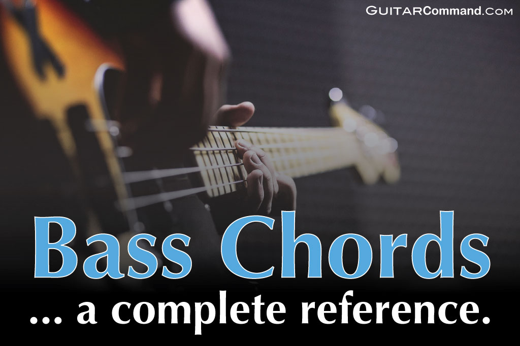 Bass Chords Diagrams Tab How To Play Chords On Your Bass Guitar