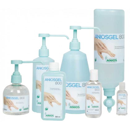 Gel Hydroalcoolique Professionnel Aniosgel 800 Lot De 10 Ou 50