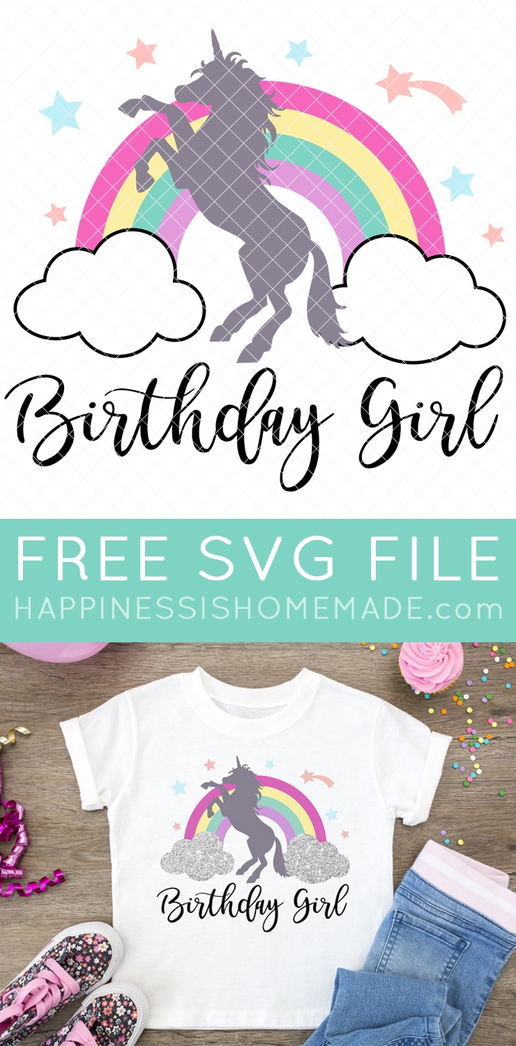 Cricut Unicorn Birthday Svg Free Svg Cut Files Create Your Diy Projects Using Your Cricut Explore Silhouette And More The Free Cut Files Include Svg Dxf Eps And Png Files