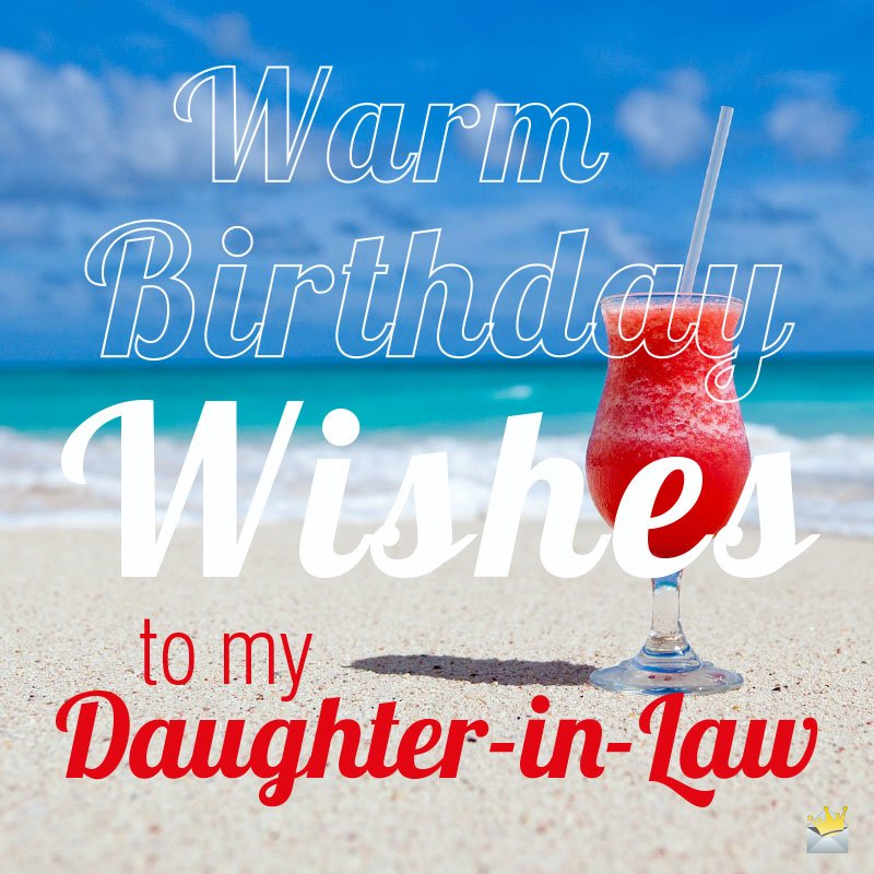 Happy Birthday Daughter In Law Wishes For Her