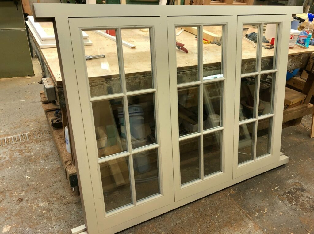 Hardwood casement windows - Essex