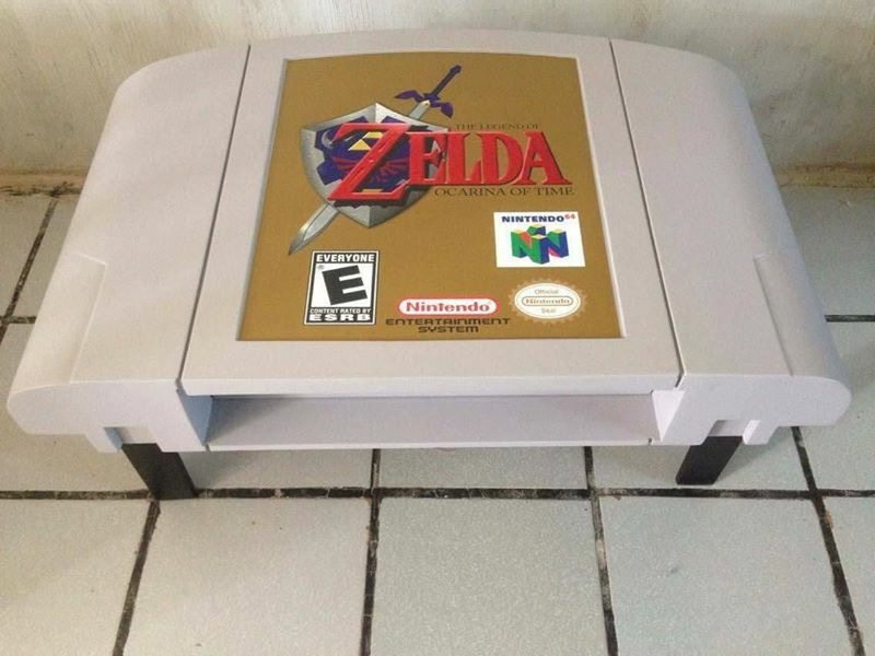 Diy Video Game Coffee Tables Designed To Bring Out Nerd In Everyone