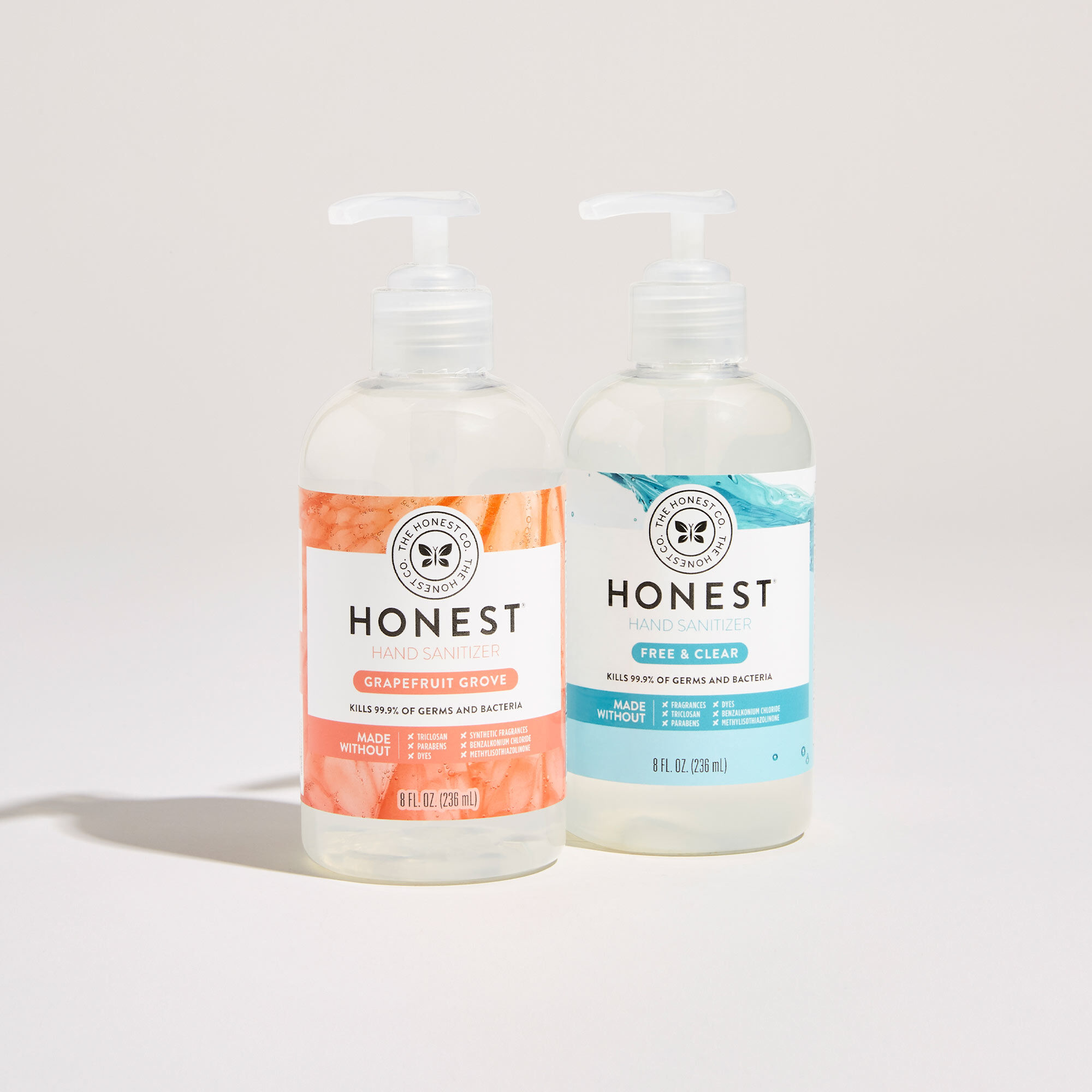 Moisturizing Hand Sanitizer Gel Honest