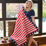Ships Ahoy Throw-crochet patterns for 4th July