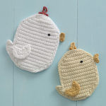 Easter Potholders Free Crochet Patterns