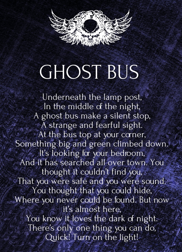 Poems About Ghost 7