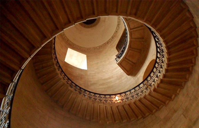 The Stone Staircase at St Paul's Cathedral