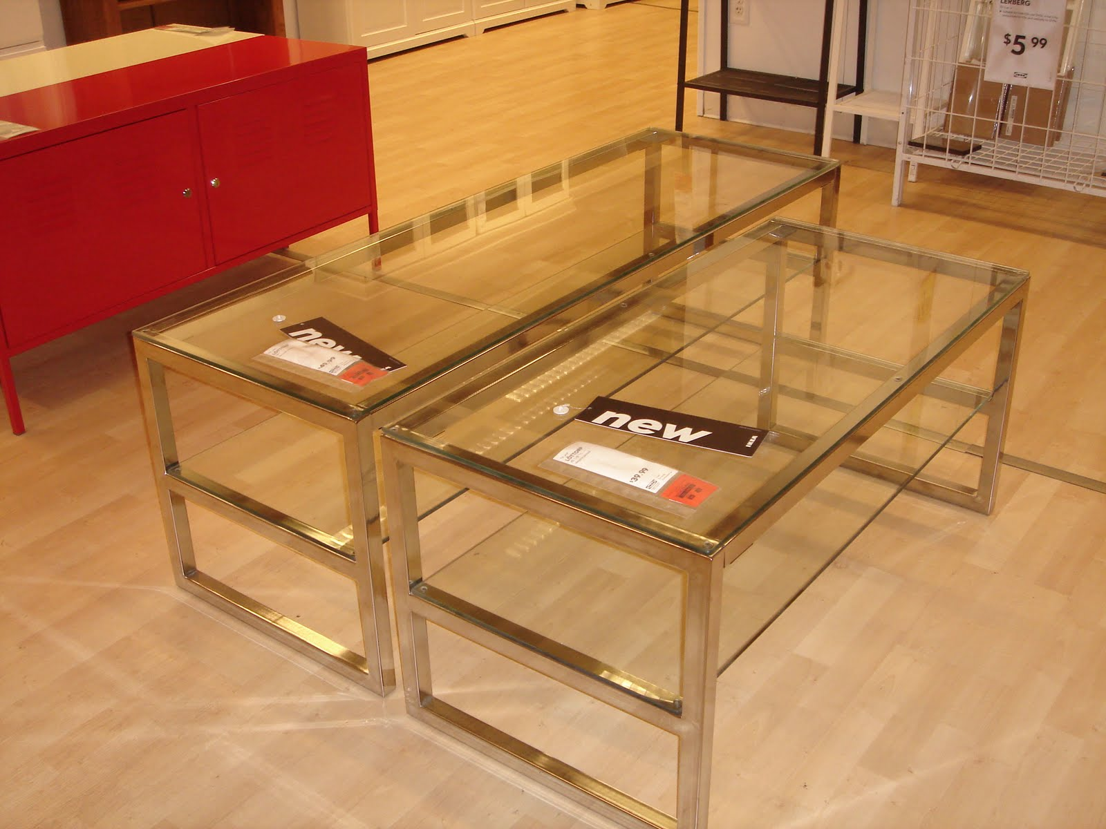 Glass Table Ikea Icmt Set Decorate Your Room With Ikea Glass Table