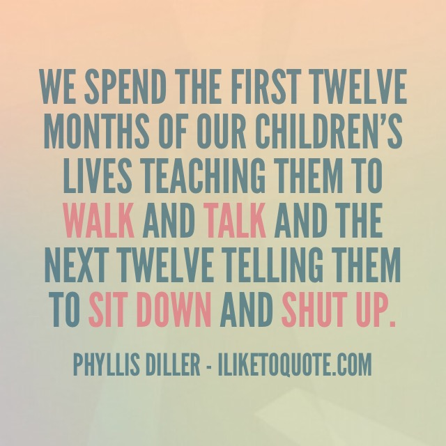 Funny Quotes About Kids And Parents Master Trick