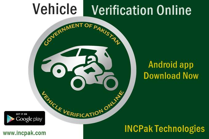 Punjab Vehicle Verification Online Incpak