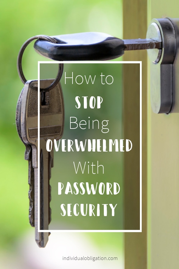 LastPass how to stop being overwhelmed with password security pinterest