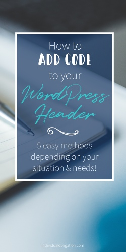 How to add code to your wordpress header pinterest graphic 2 small