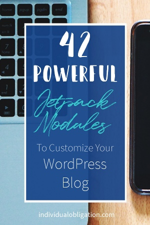 Jetpack Modules - 42 powerful Jetpack modules to customize your WordPress Blog or website