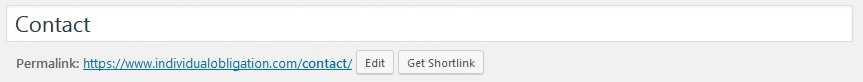 Jetpack Module WP.me Shortlinks example of where to get the shortlink for a post or page
