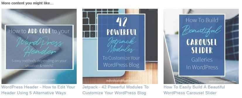 One of the best wordpress plugins jetpack's related posts example