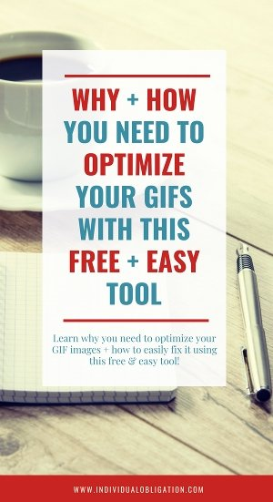 Why and how you need to optimize your gifs with this free and easy tool