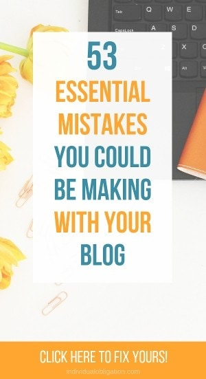 start a wordpress blog - 53 essential mistakes you could be making with your blog