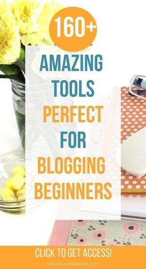 160+ amazing tools perfect for blogging beginners. Click here to get access!