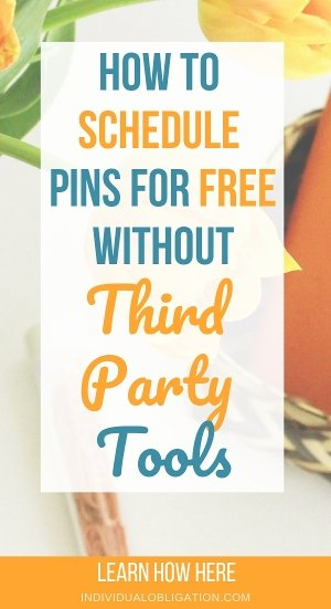 How to use this Free Pinterest scheduler for your blog
