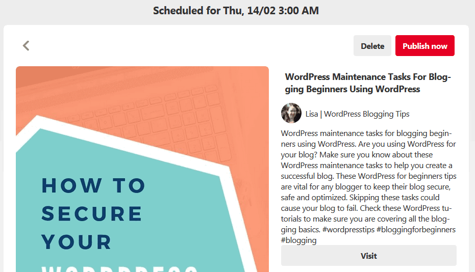 What These Free Pinterest Scheduler Pins Look Like Before They Are Published