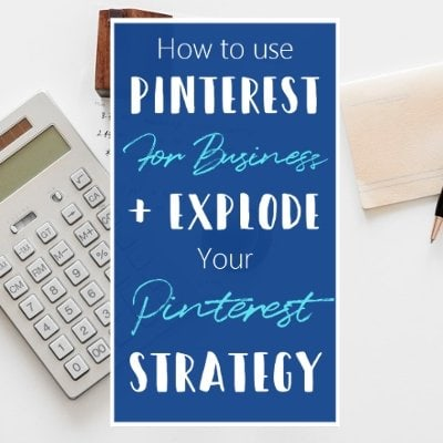 How To Use Pinterest For Business Pinterest Strategy Pinteresting Strategies Social Media Marketing Blogging Tips For Beginners Featured 1 L Default Blue