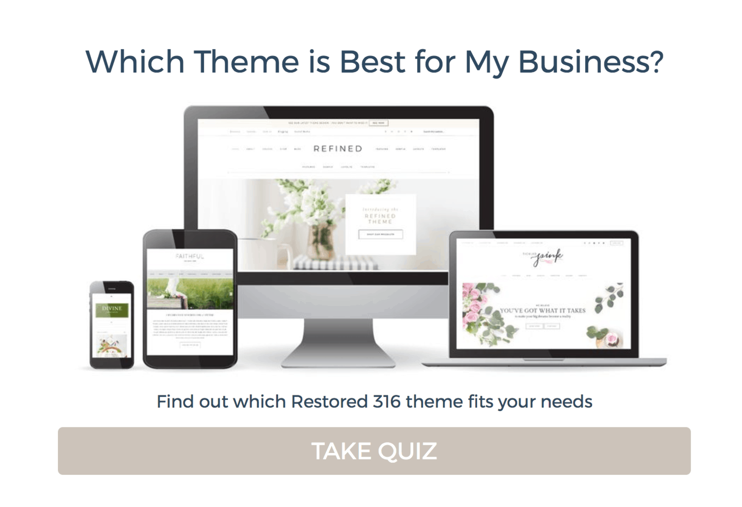 Restored316 WordPress Theme Quiz How To Choose A Theme For Your Blog Or Business