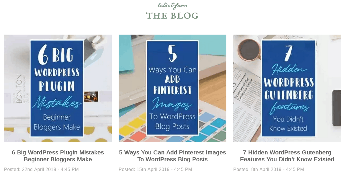 Before You Hit Publish In WordPress Create A Featured Image For Related Posts And Thumbnails