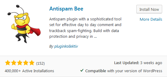Before You Write Your First Blog Post Install An Antispam Plugin Like Antispam Bee