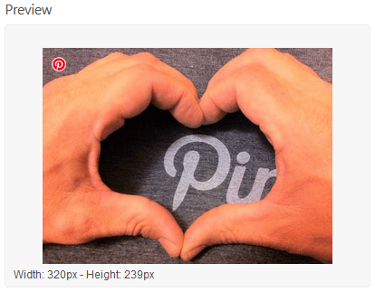 Preview Of The Pinterest Pin It Button Round Icon