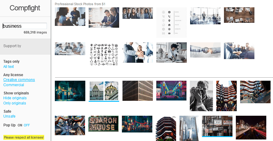 Free Stock Images For Bloggers Using The Compfight Website
