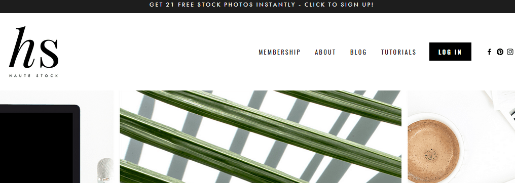 Free Stock Images Using The Haute Stock Website For Styled Stock Images