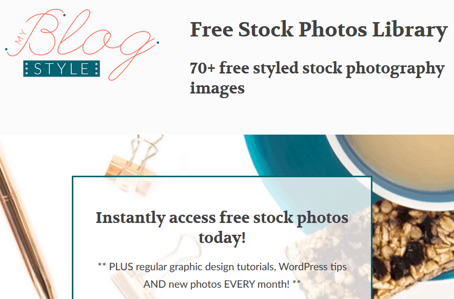 Free Stock Images Using The My Blog Style Website For Styled Stock Images