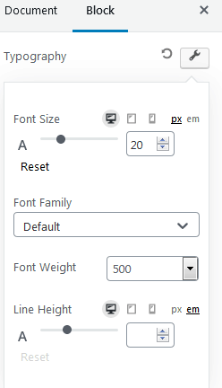 Ultimate Addons Table Of Contents Settings For Content Expanded Typography