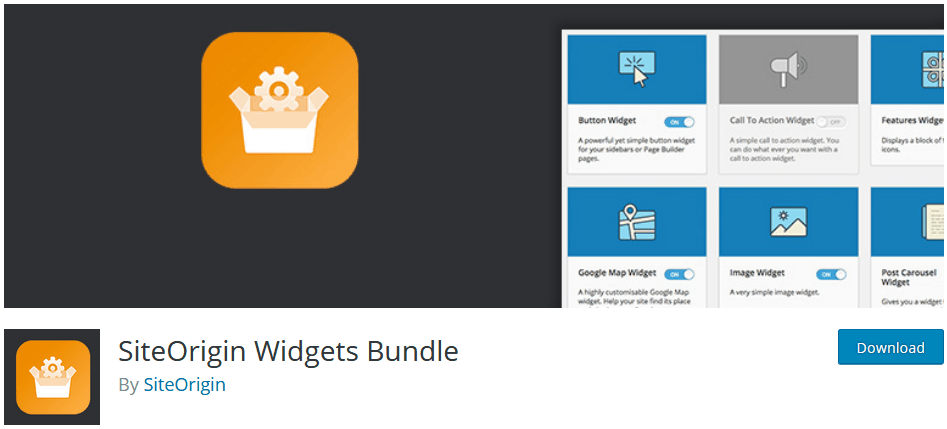 Adding Widgets To WordPress Using The Widget Plugin Siteorigin Widgets Bundle