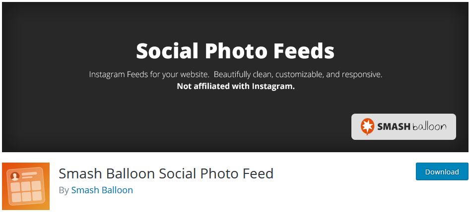 Adding Widgets To WordPress Using The Widget Plugin Smash Balloon Social Photo Feed