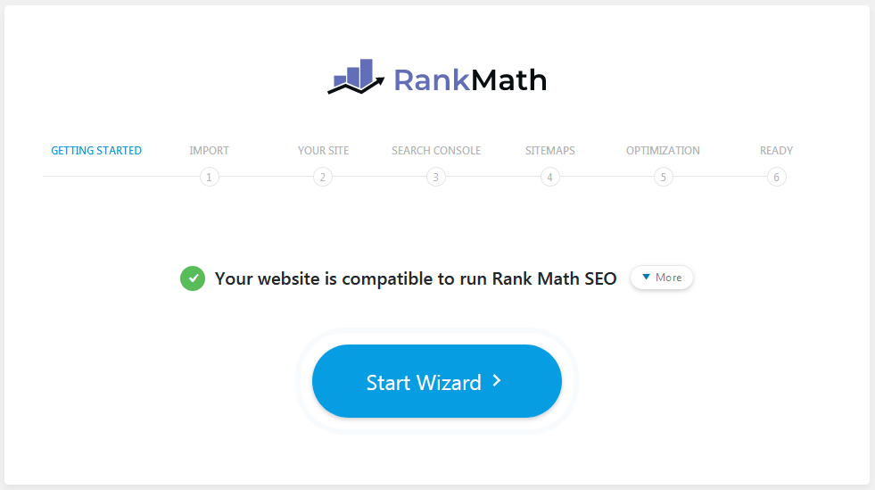 Rank Math When First Starting It Comes Up With A Settings Wizard