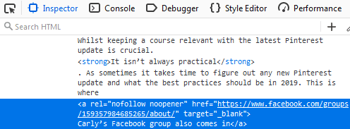 How To Stop WordPress From Adding Noreferrer On Your Live Blog