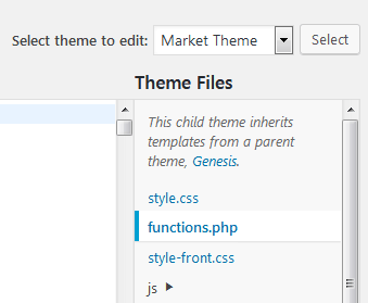 Where To Find Your WordPress Theme Functions File To Remove Noreferrer From Your Links