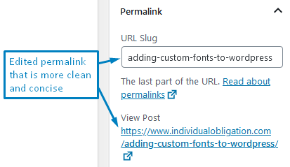 How To Change Permalinks In WordPress Gutenberg After Changing The Default And What It Should Look Like