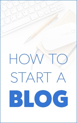 How to start a blog guide