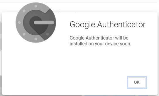 Wordpress Two Factor Authentication Google Authenticator Automatically Installing To Device Confirmation