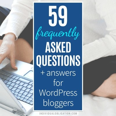 59 WordPress Frequently Asked Questions + Answers For New WordPress Bloggers (faq Guide) B Featured
