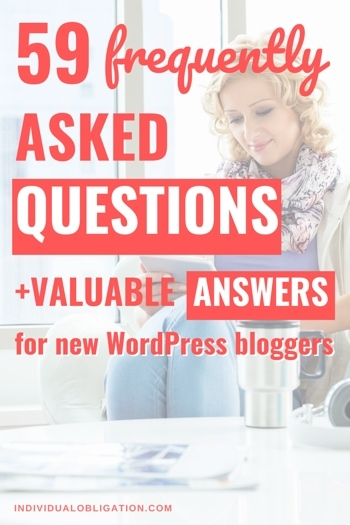 59 WordPress Frequently Asked Questions + Answers For New WordPress Bloggers (FAQ Guide)