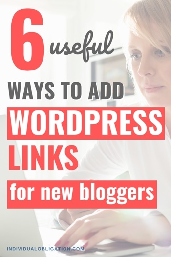 Wordpress Links Guide For New Bloggers