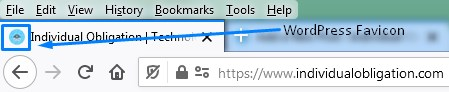 Wordpress Favicon Example