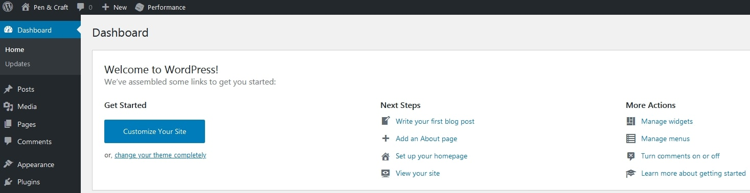 Frequently Asked Questions About WordPress What Is The WordPress Dashboard