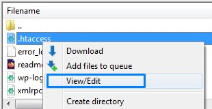 How To Use Your WordPress Ftp To Edit Files
