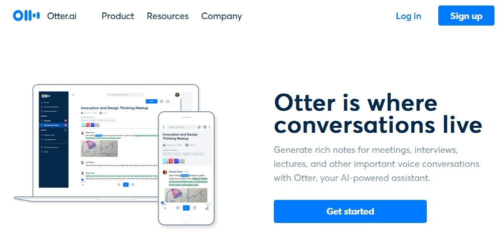 Otter.ai Speech To Text Tool For Dictating Blog Posts